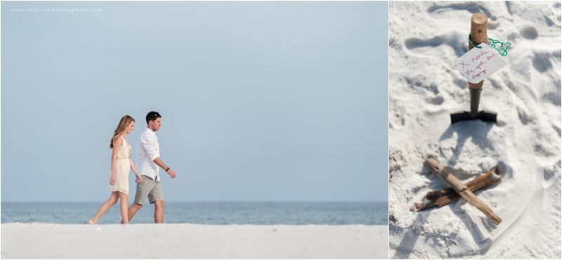 beach proposal surprise pensacola fort pickens love engagement_0002