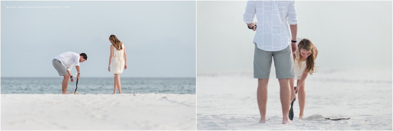 beach proposal surprise pensacola fort pickens love engagement_0003