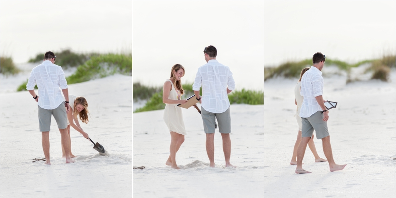 beach proposal surprise pensacola fort pickens love engagement_0004