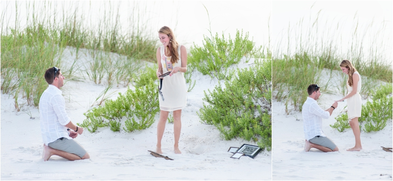 beach proposal surprise pensacola fort pickens love engagement_0005