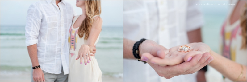 beach proposal surprise pensacola fort pickens love engagement_0011
