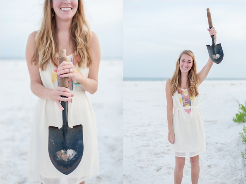 beach proposal surprise pensacola fort pickens love engagement_0015