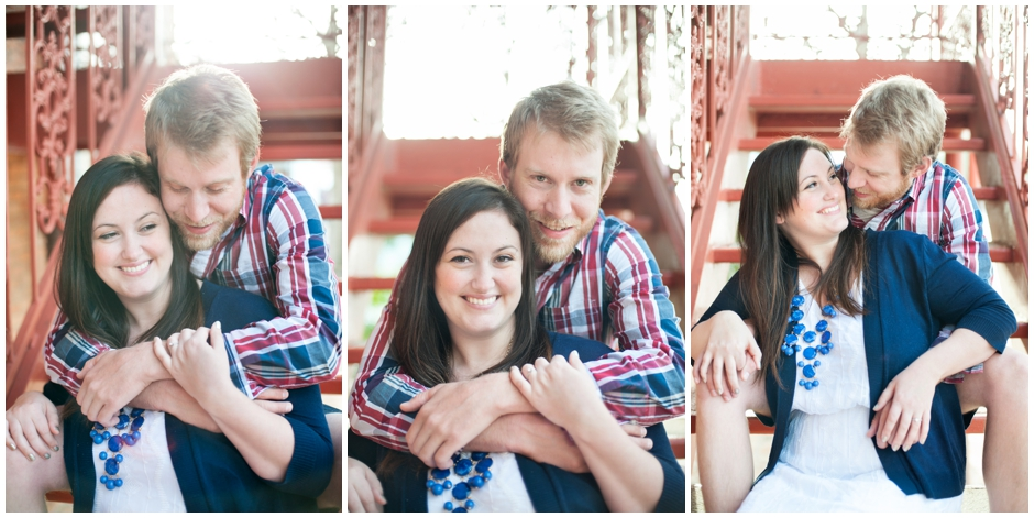 engagement session downtown pensacola florida puppy furbaby dog pet family baseball red white blue water city reflections macro_0011