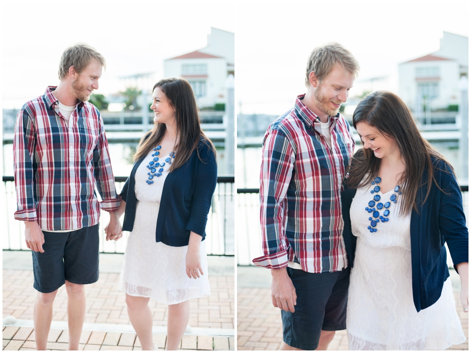 engagement session downtown pensacola florida puppy furbaby dog pet family baseball red white blue water city reflections macro_0012
