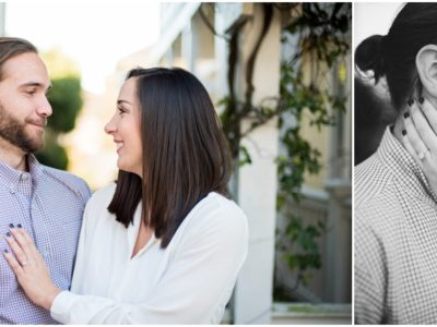 Jaimee + Norman | Downtown Pensacola Engagement