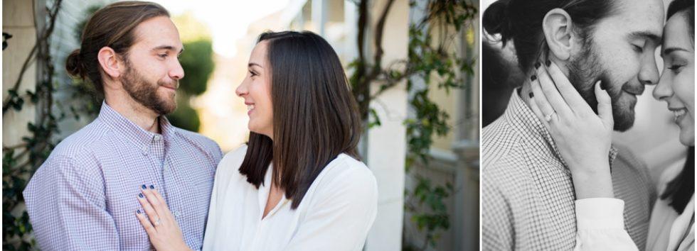 Jaimee + Norman | Downtown Pensacola Engagement