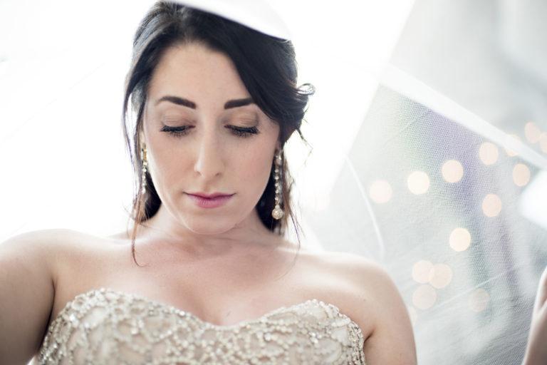 Chloe bridal veil