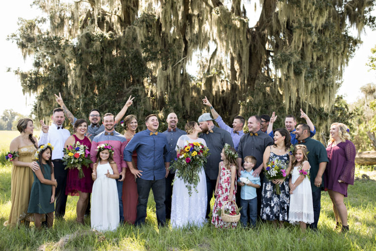 Bryant Libby bridal party