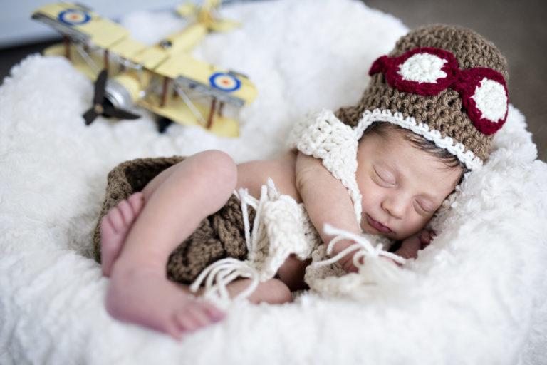 Luke pilot newborn