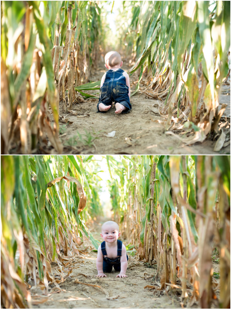Caleb crawling