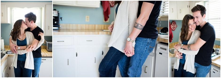 Lifestyle Home Pensacola Florida Engagement Photographer