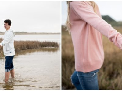 Maureen + Josh | Pensacola Beach Engagement