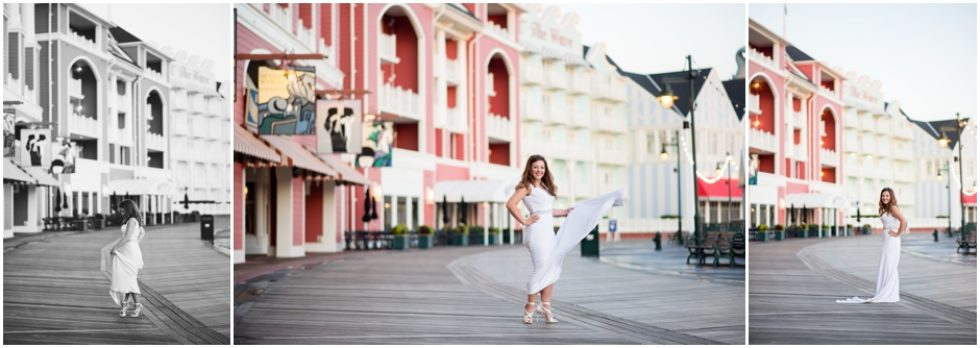Kelly's Bridal Session | Disney World