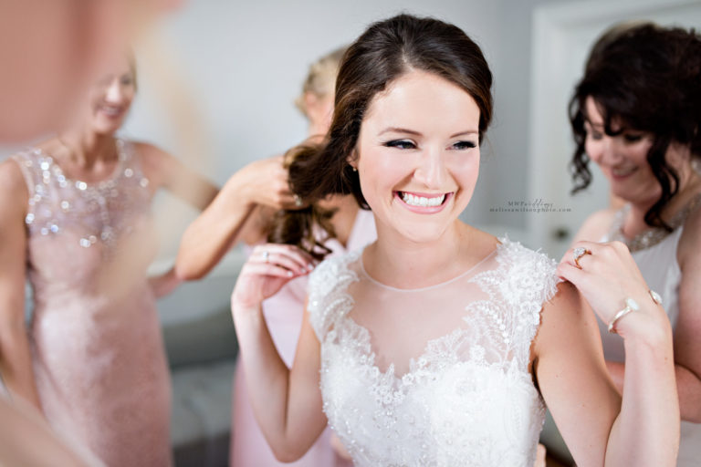 Celebrate Bride Getting Ready North Carolina Wedding