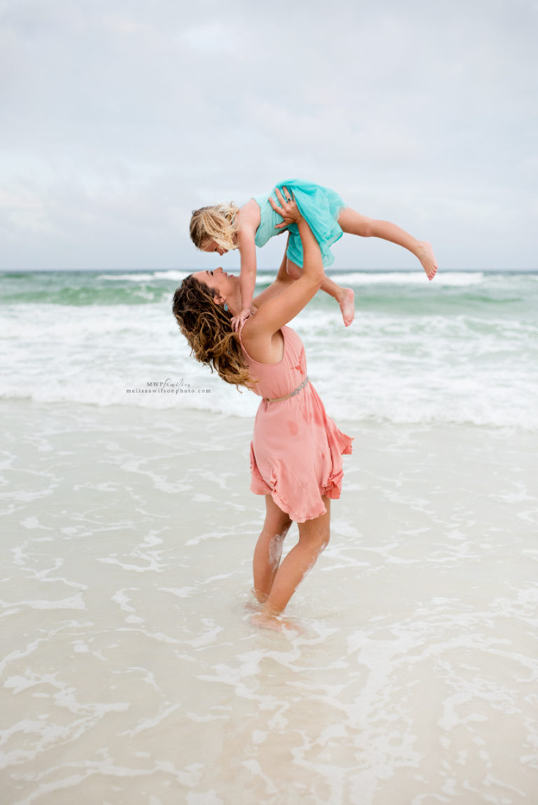 Mommy and Me Session Pensacola Beach Florida