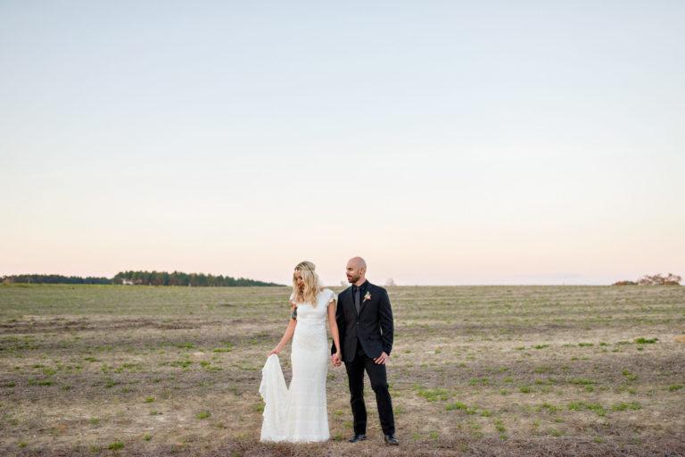 Caitlin Aaron field wedding jay florida