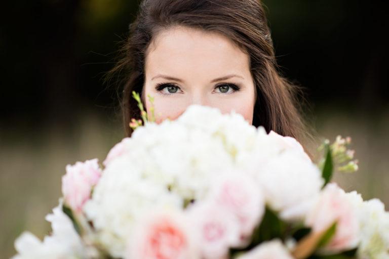 Bride Bouquet Eyes Bridal Session Pensacola Florida