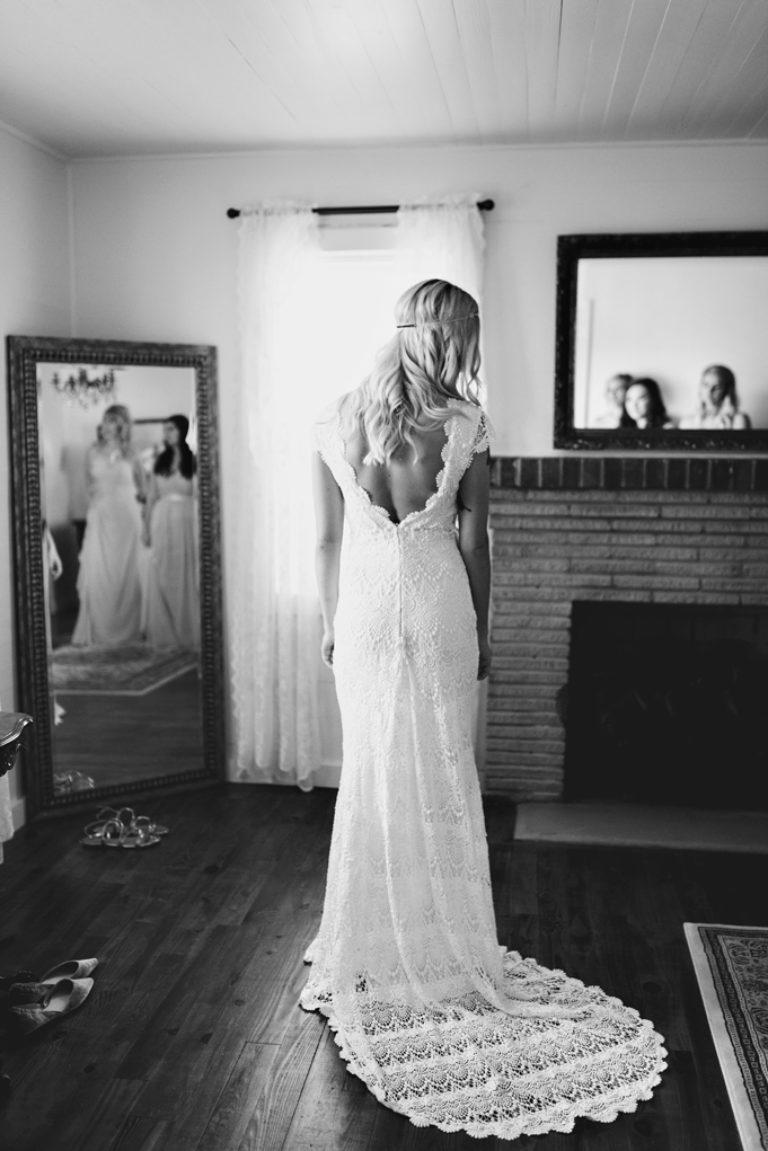 Bride Dress Getting Ready Holland Farms Jay Florida Wedding