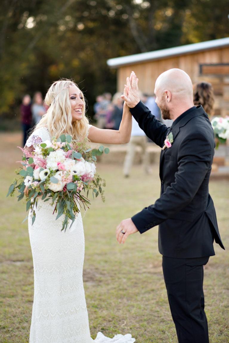 jay florida high five barn wedding