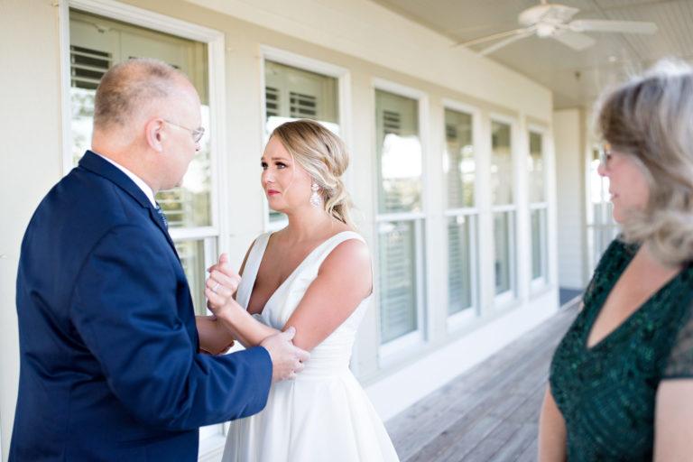 Heron Point Orange Beach The Wharf Alabama Wedding Daddy First Look