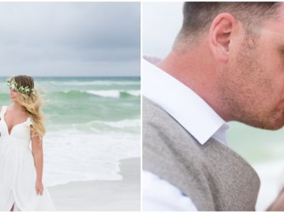 Kelsey + Andrew's Vow Renewal | Navarre Beach Wedding Photographer