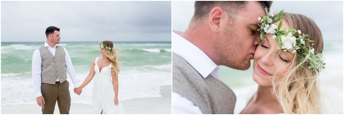 Navarre Beach Florida Vow Renewal Wedding Photographer | Kelsey + Andrew