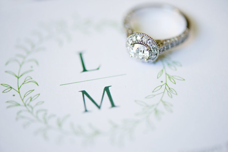ring and invitation