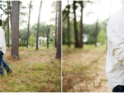 Laiken + Chandler | Downtown Fairhope Engagement Photographer