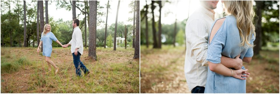 Laiken + Chandler | Downtown Fairhope Engagement Session