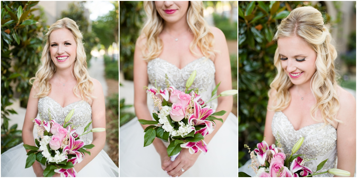 Downtown Pensacola Florida Bridal Session