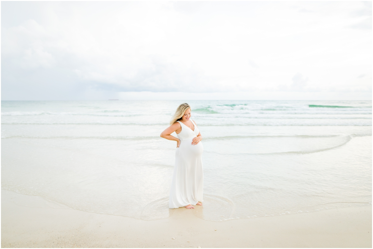 Fort Pickens Pensacola Beach Maternity Session