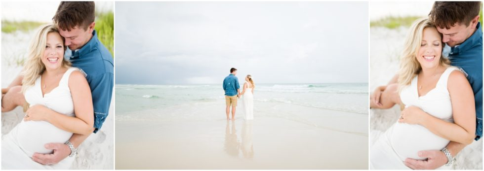 Perryn + Mike | Fort Pickens Beach Maternity