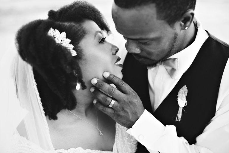 bride and groom destin florida wedding