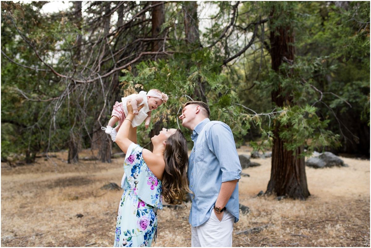 California Yosemite National Park Family Session