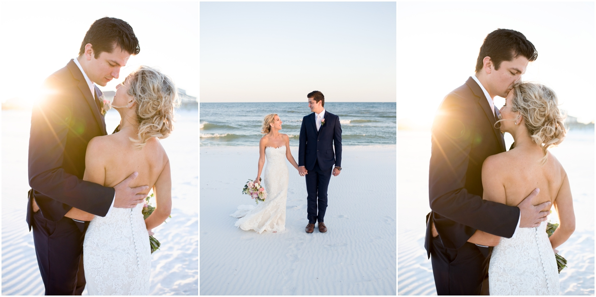 Pensacola Florida Beach House Wedding
