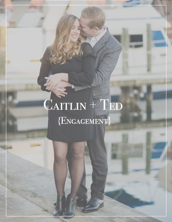 Downtown Historic District Palafox Wharf Engagement Session | Caitlin + Ted