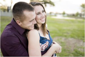 Perfect Plain Brewery Downtown Engagement Session Pensacola Florida Military Couple Photographer