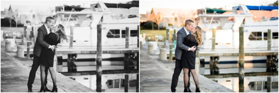 Caitlin + Ted | Downtown Historic District Palafox Wharf Engagement Session