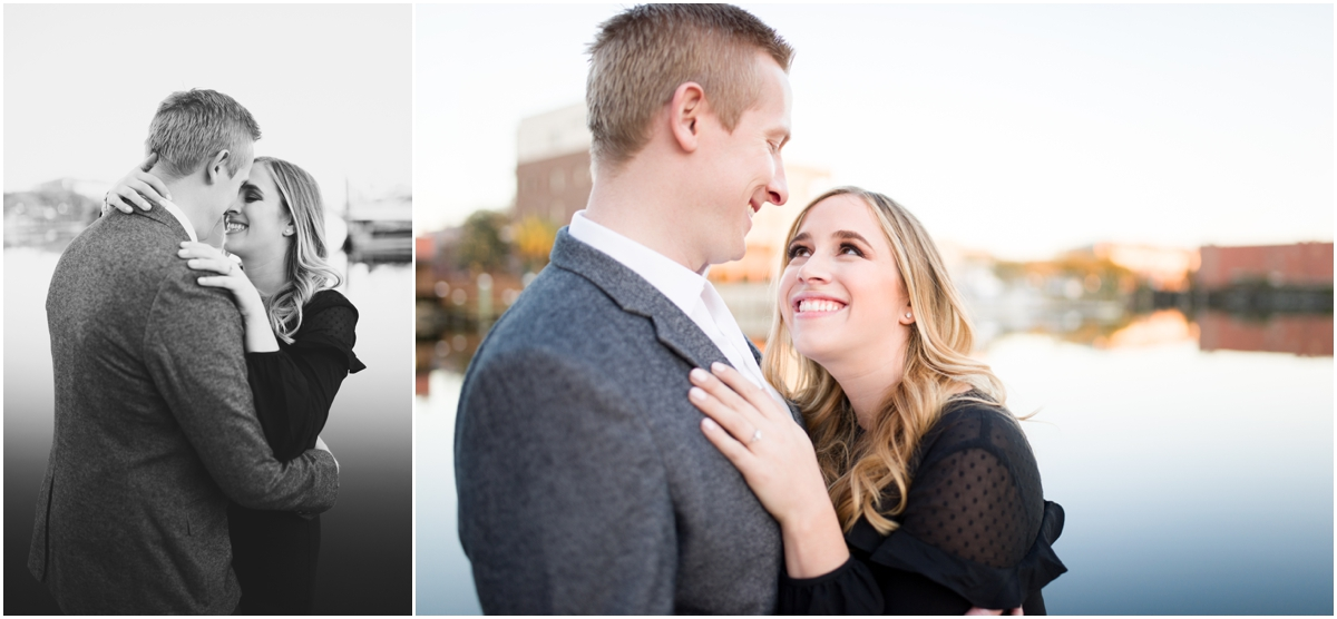 Downtown Pensacola Historic District Palafox Wharf Engagement Session