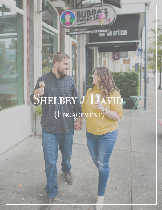 Bubba's Sweet Spot Ice Cream Engagement Session | Shelbey + David