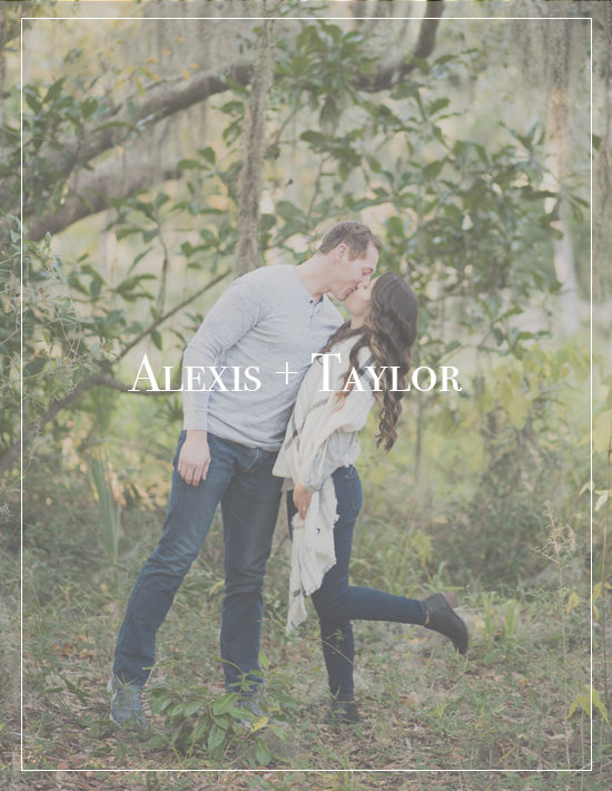 Woodsy Gulf Breeze Florida Engagement Session | Alexis + Taylor