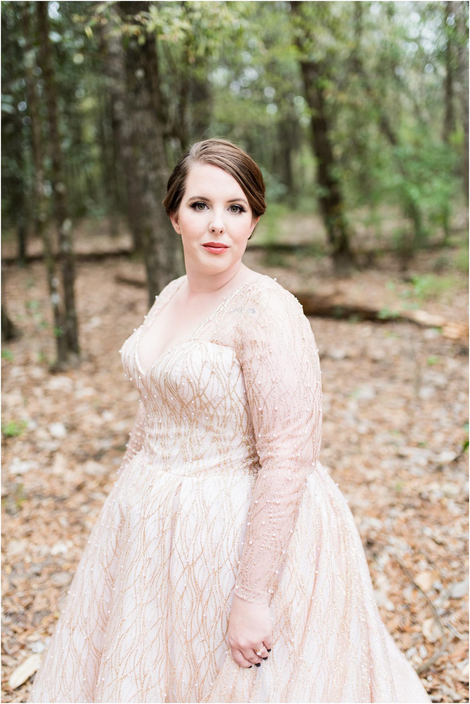 Coldwater Gardens woodsy wedding milton florida photographer bride getting ready