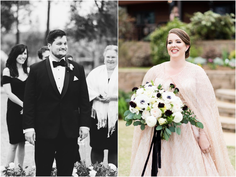 Coldwater Gardens woodsy wedding milton florida photographer bride wedding ceremony first look
