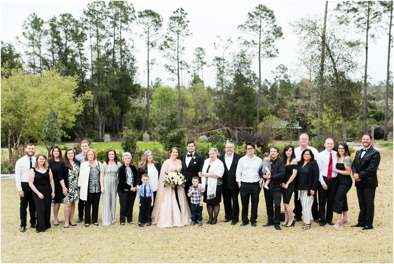 Coldwater Gardens woodsy wedding milton florida photographer
