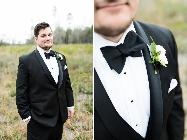 Coldwater Gardens woodsy wedding milton florida photographer groom