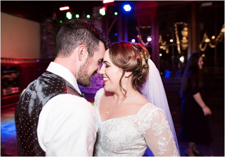 Downtown Pensacola Florida Seville Quarter Wedding Apple Annies Reception