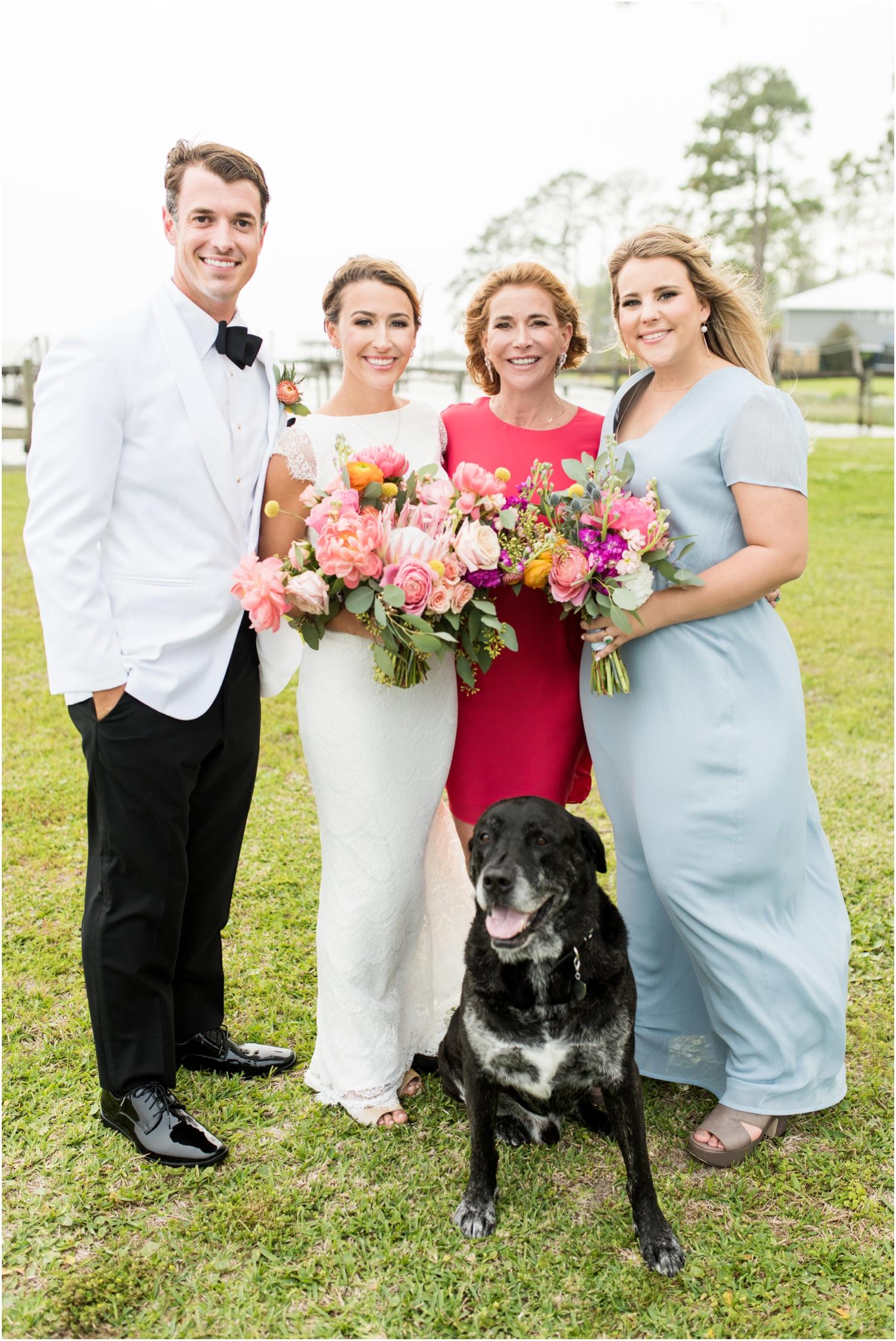 Gulf Shores Orange Beach Alabama Family Home on the Water Wedding Photographer family