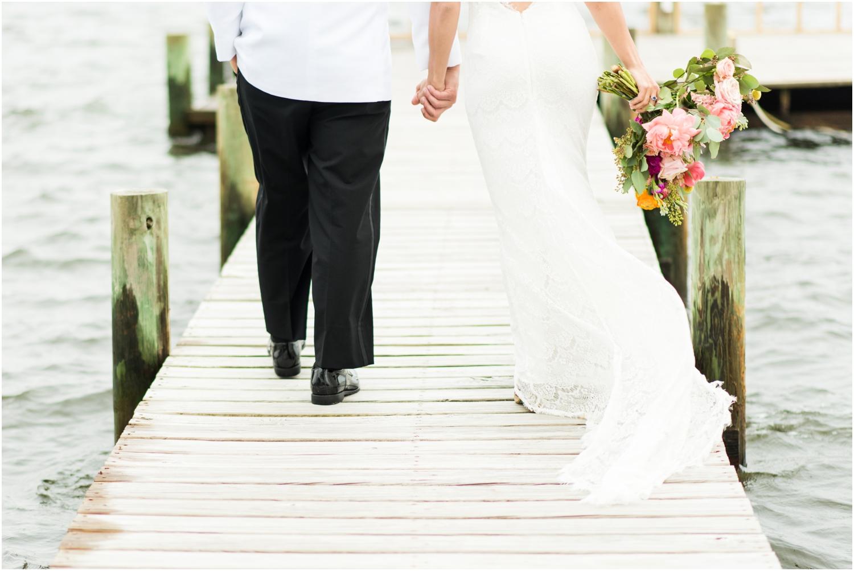 Gulf Shores Orange Beach Alabama Family Home on the Water Wedding Photographer Bride Groom Portraits dock