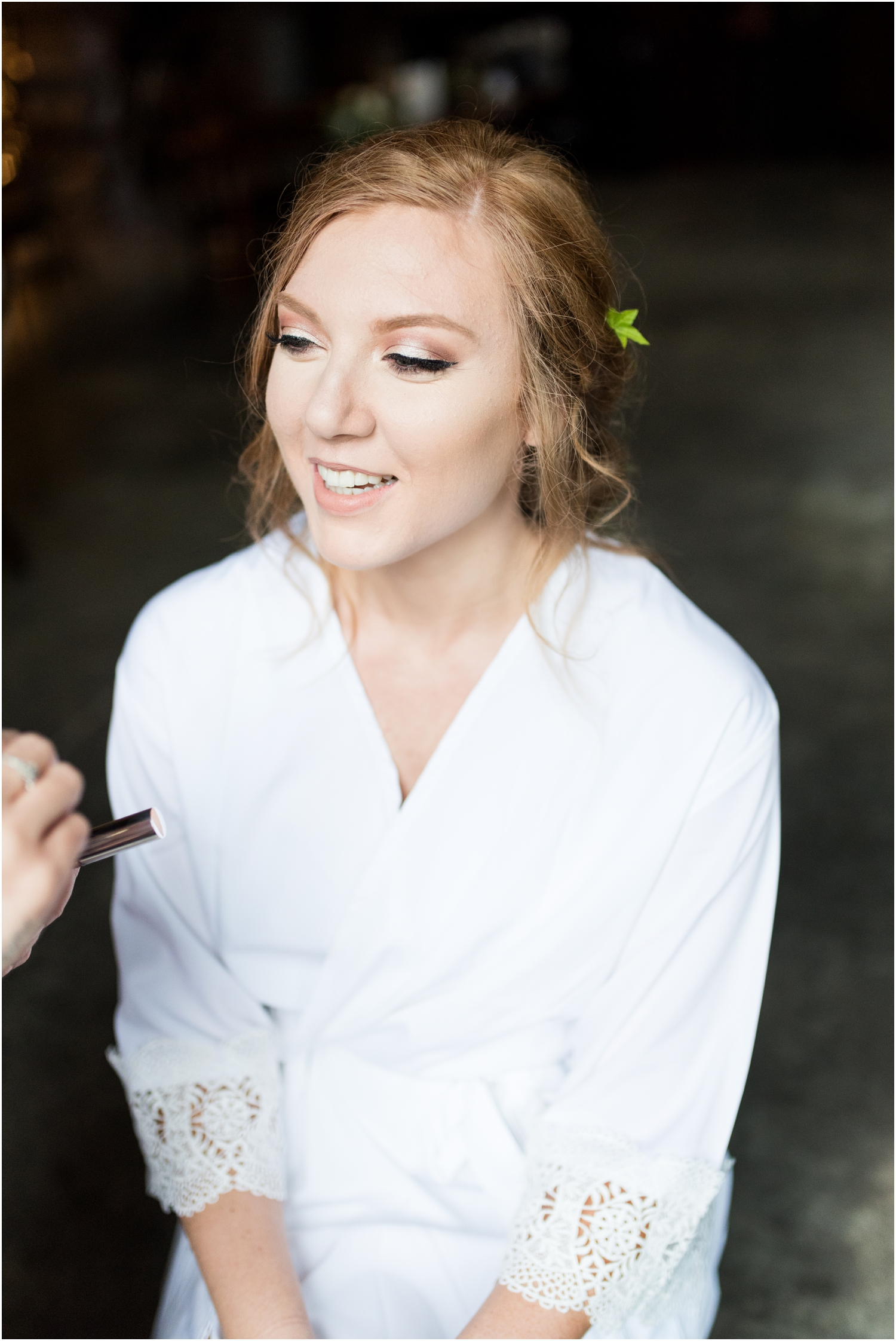 Live Oak Plantation Pensacola Florida Wedding Photographer getting ready bride