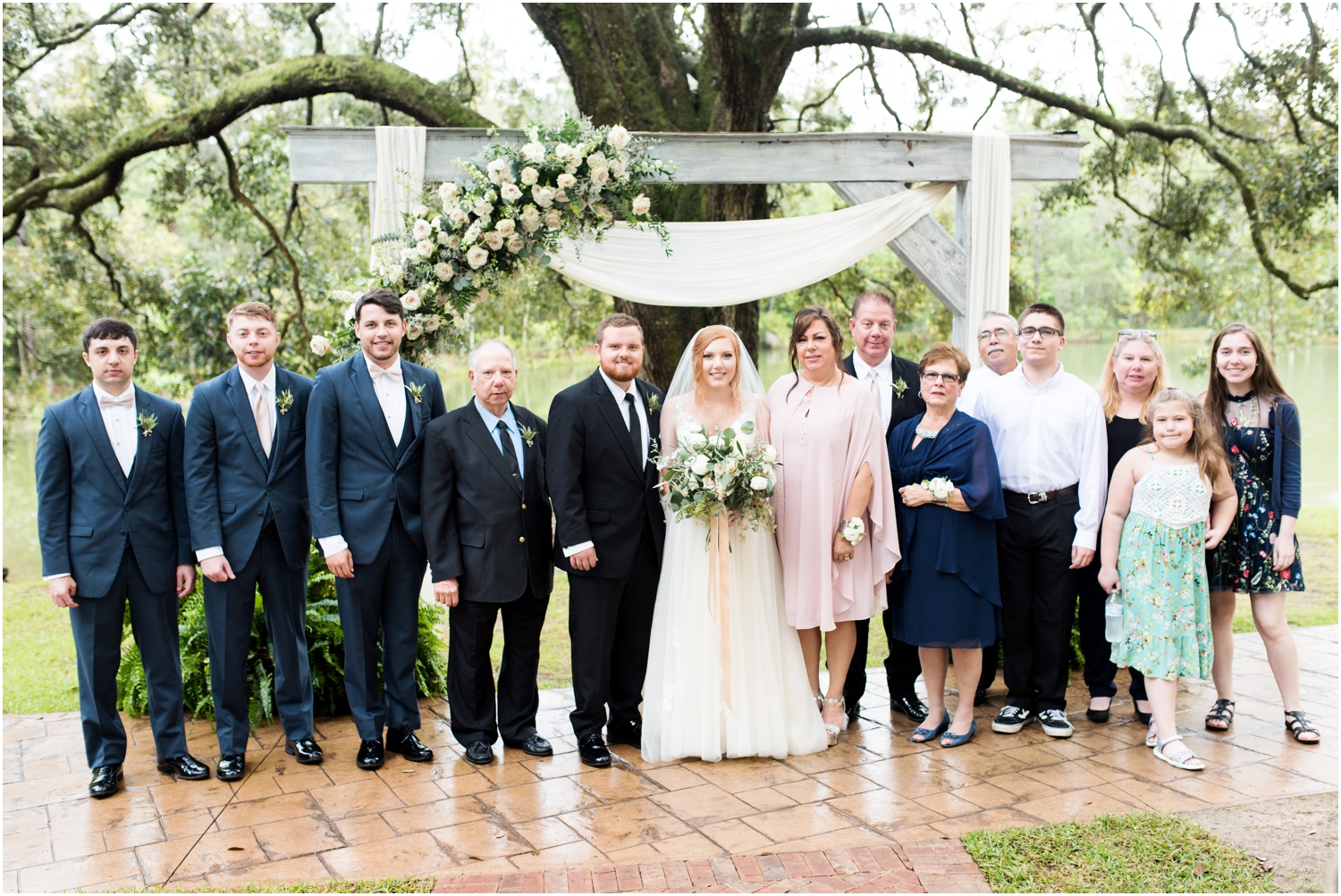 Live Oak Plantation Pensacola Florida Wedding Photographer
